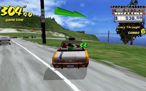 Crazy Taxi Game
