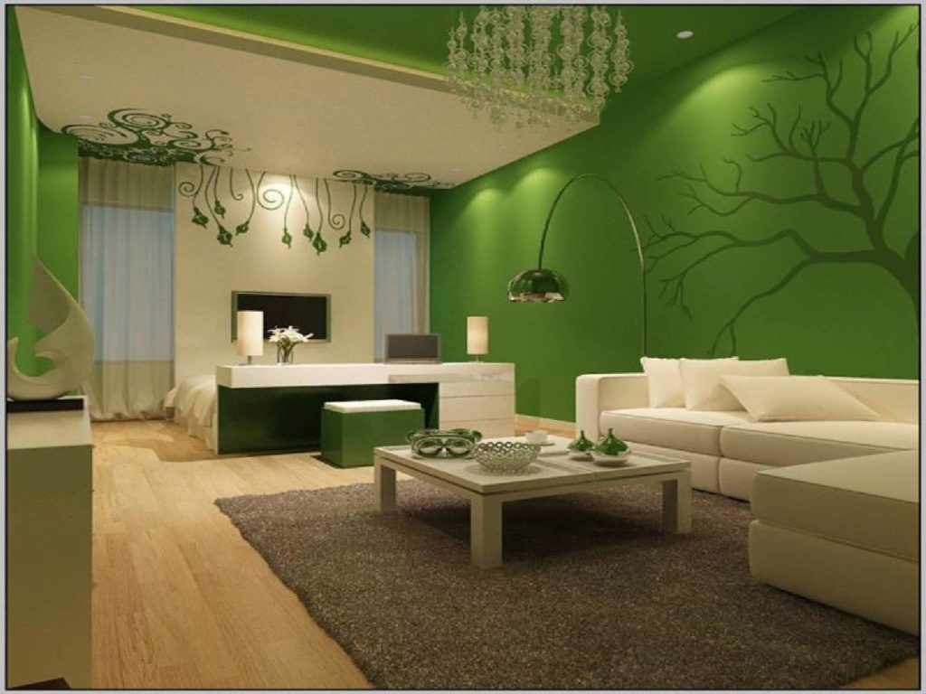 Natural Green Color Interior
