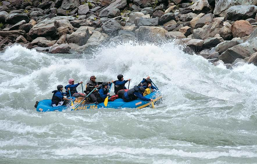 River Rafting in Siang