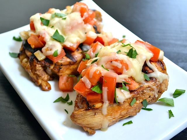 Tandoori Chicken Bruschetta