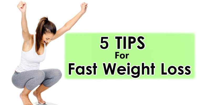 5 Free Diet Tips for Fast Weight Loss