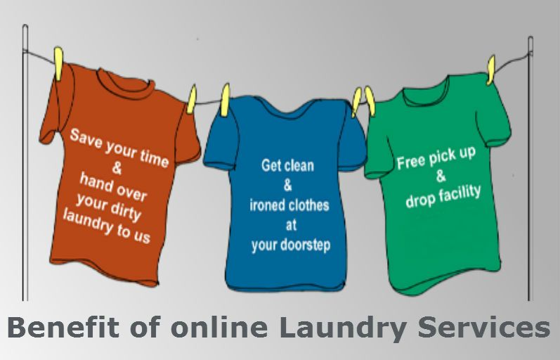 Benefits of Opting For Online Laundry Services
