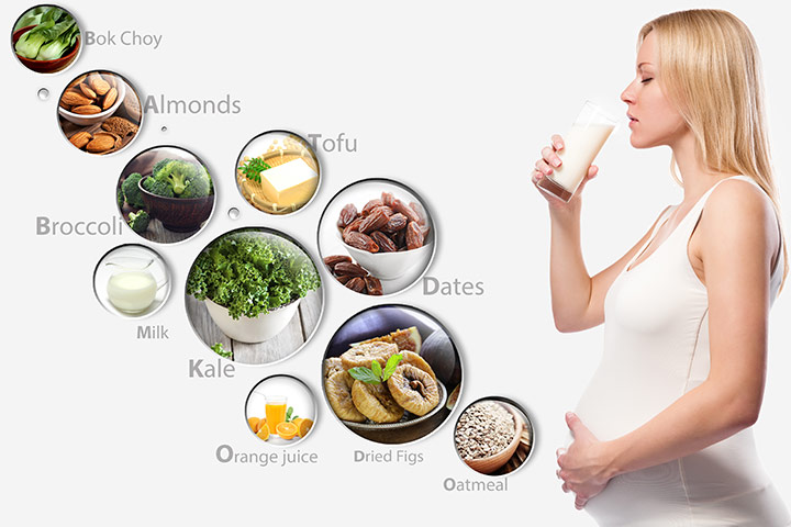 Top 4 Calcium Rich Foods For Pregnant Women