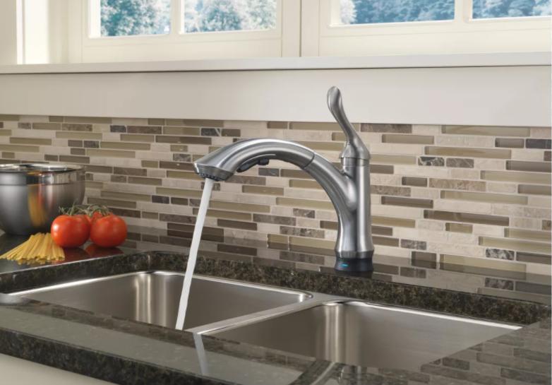 Delta Faucet 4353-AR-DST Linden Kitchen Faucets