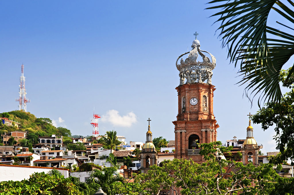 Guadalupe Church in Downtown Puerto Vallarta