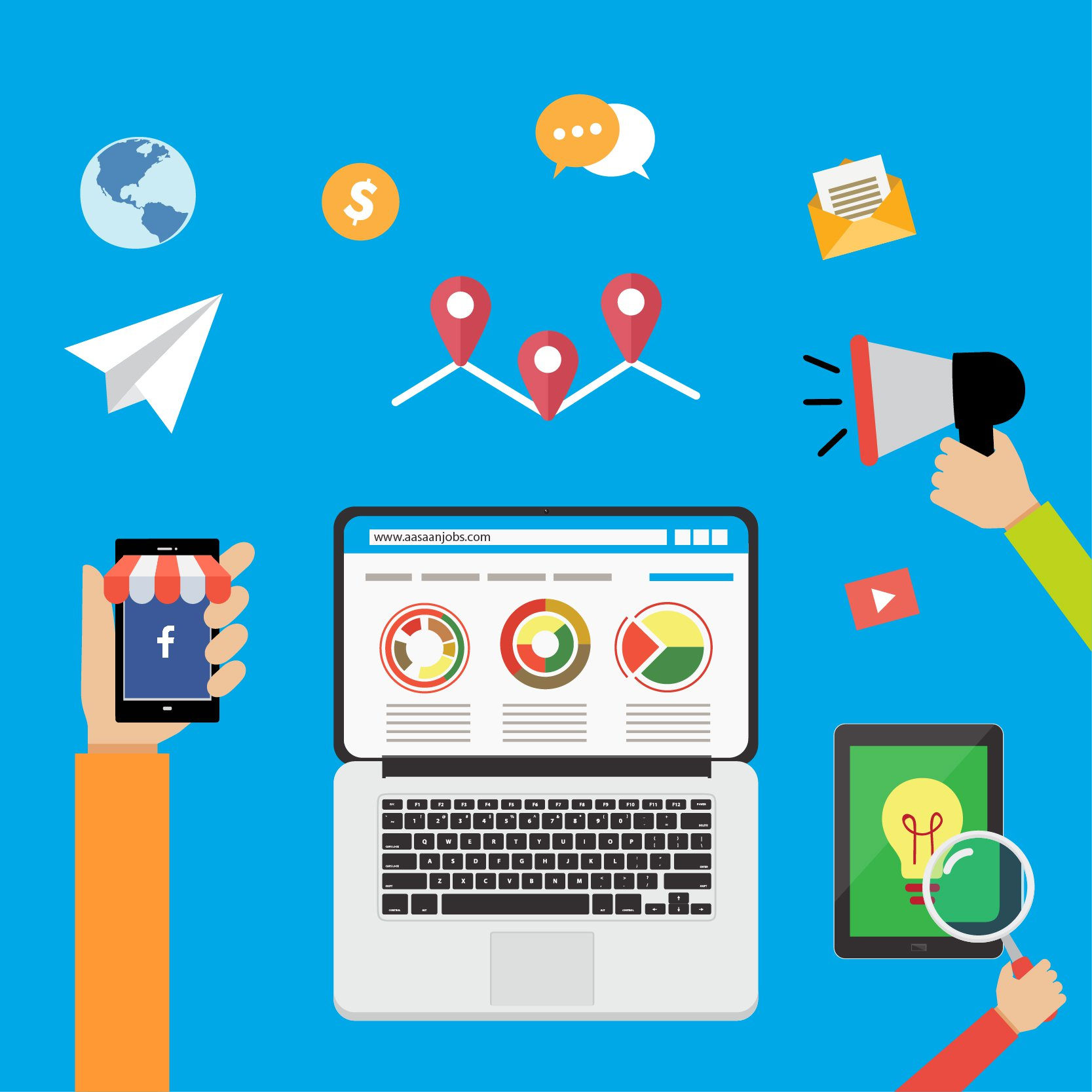 Top 5 Benefits of Digital Marketing as a Career