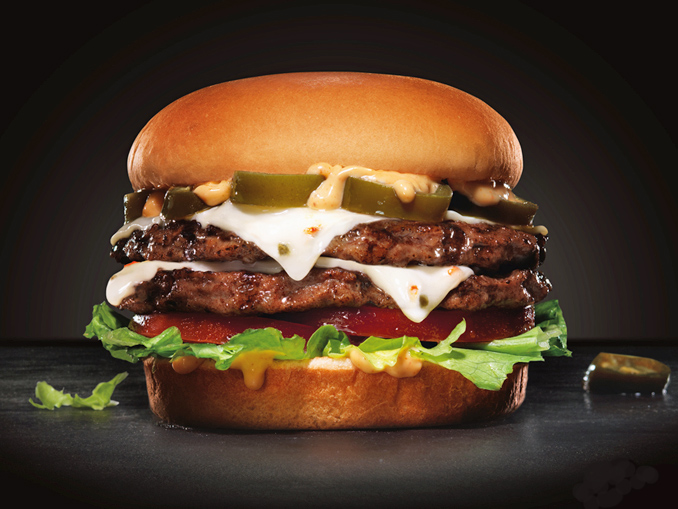 Double Cheese Burger Combo