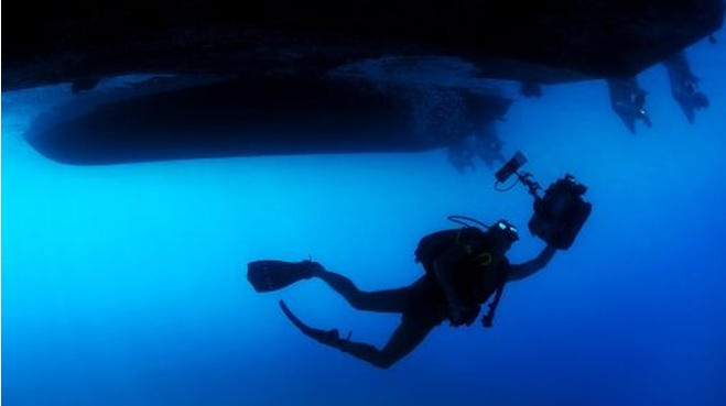 Night Diving with Al Boom