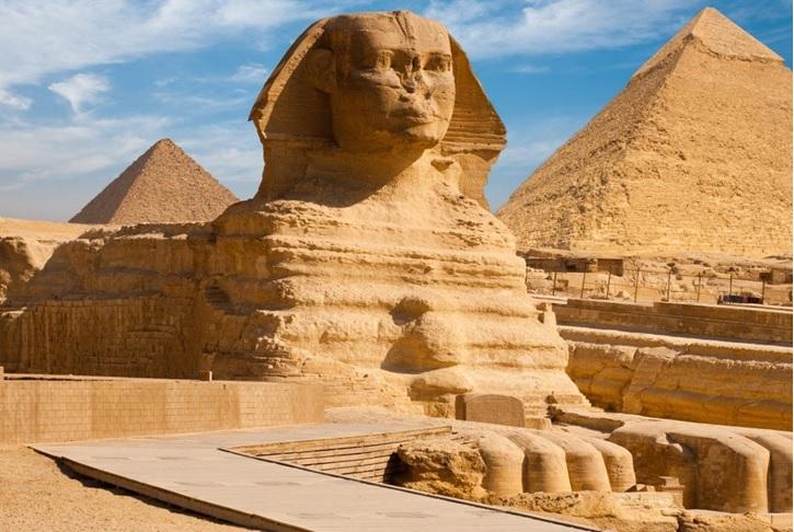 Pyramids, Giza, Egypt