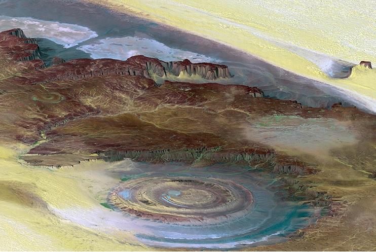 The Giant Blue Eye of Africa, Mauritania