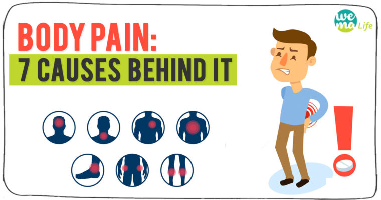 Body Pain: 7 Causes behind it