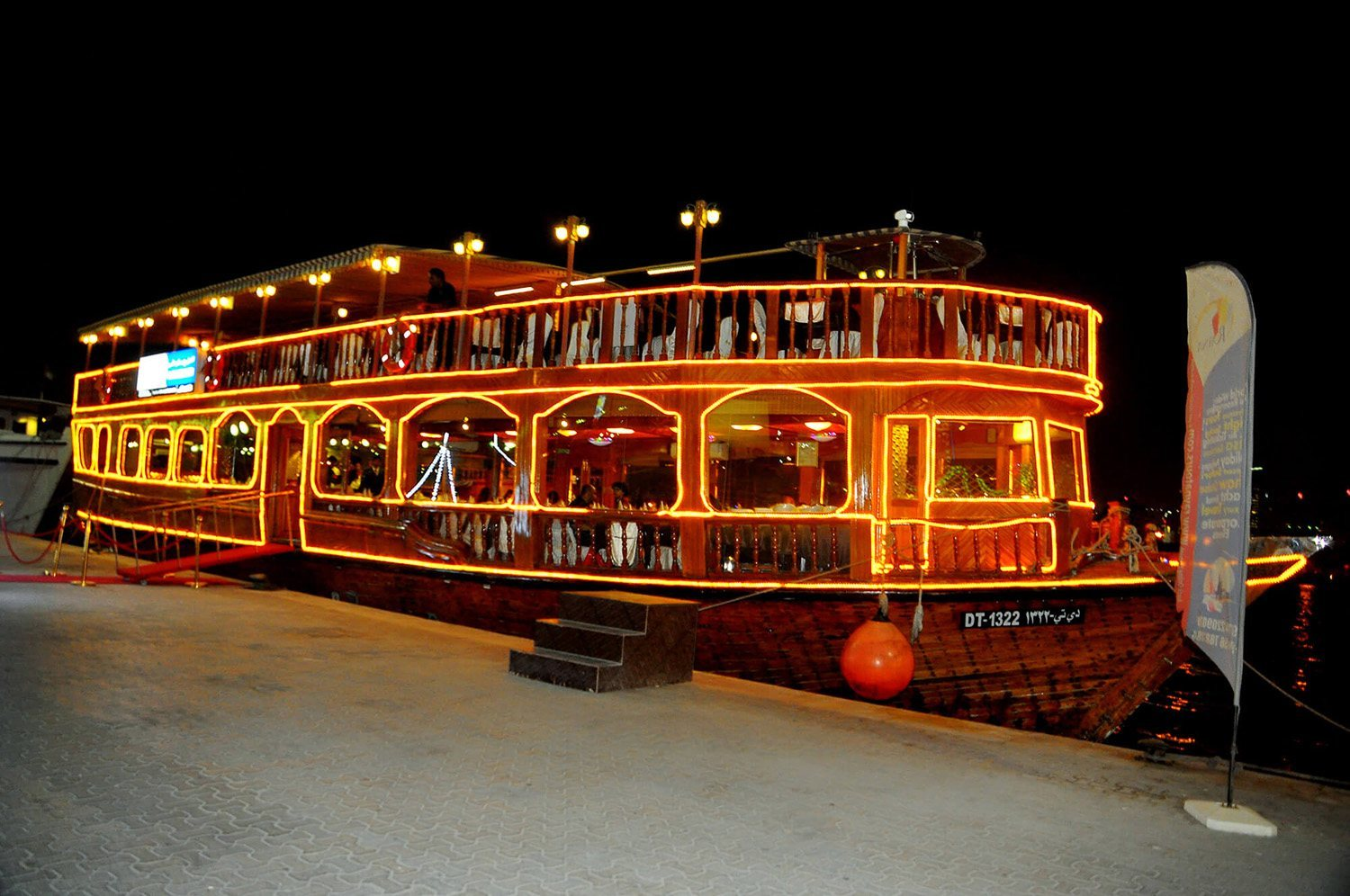 Dubai Dhow Cruise Creek