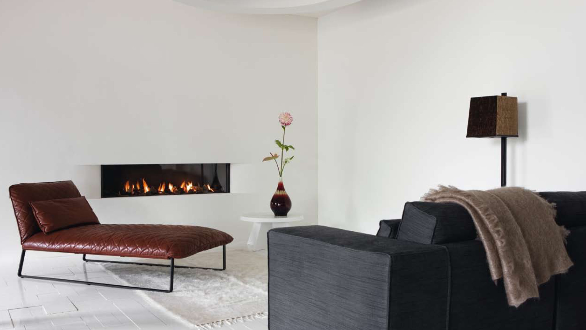 Types of Ethanol Contemporary Fireplaces