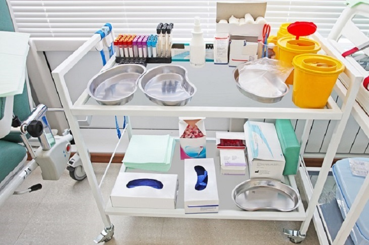 Get Ample Benefits of Storage for Stainless Steel Instrument Trolley