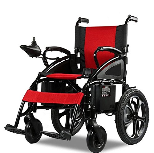 Comfy Go Wheelchair Red