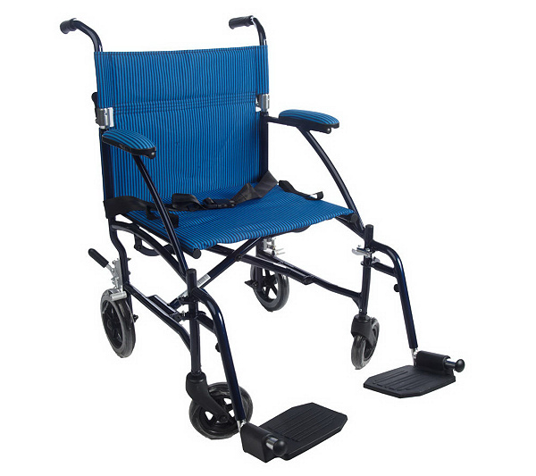 Drive Medical Super Light, Folding Transport Chair