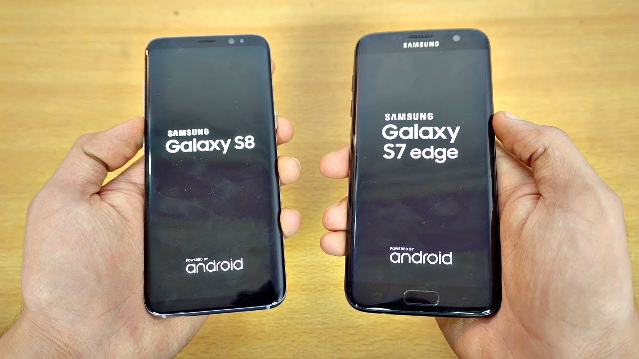 Samsung Galaxy S7 or Samsung Galaxy S8