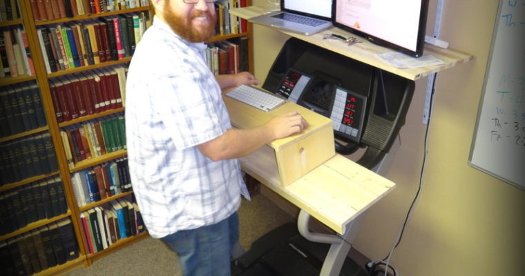 Why I Built A Treadmill Desk