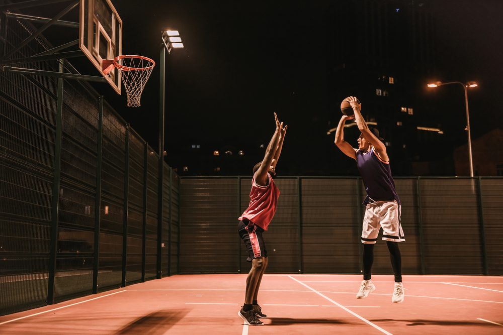 Playing Basketball Reduces Stress