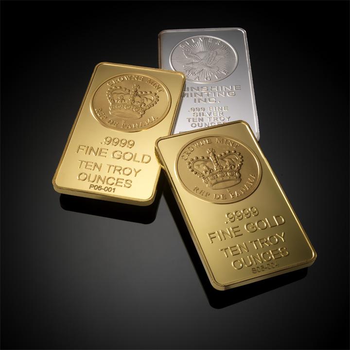 Gold Bullion or Silver Bullion