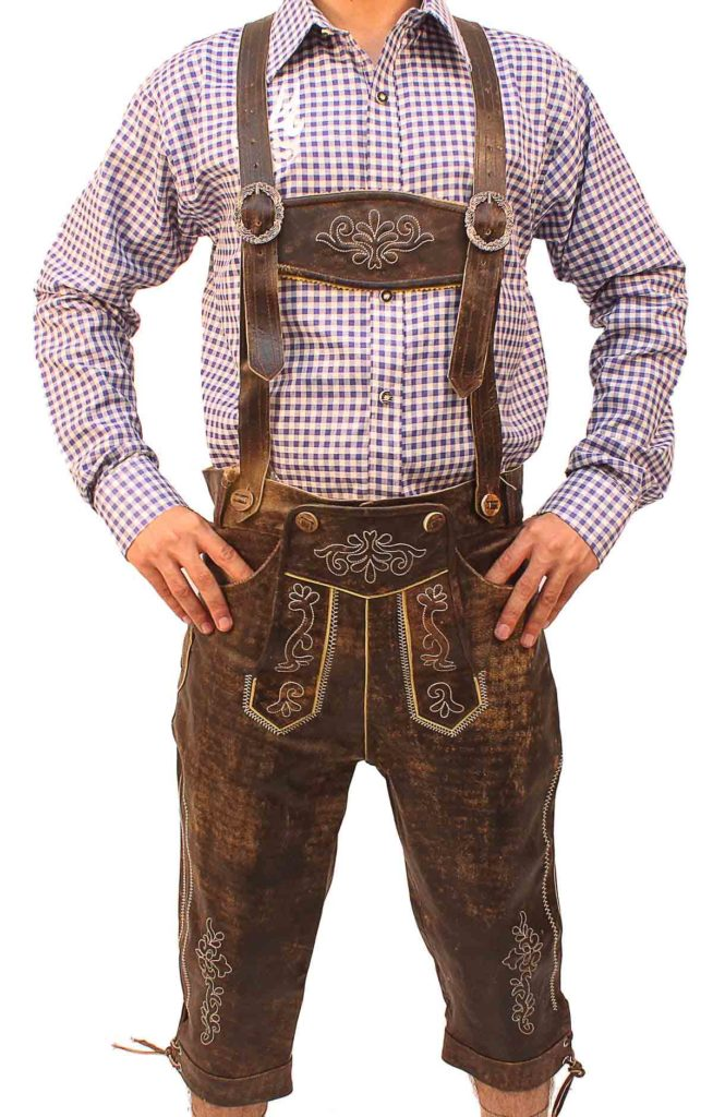 Knee Length Lederhosen