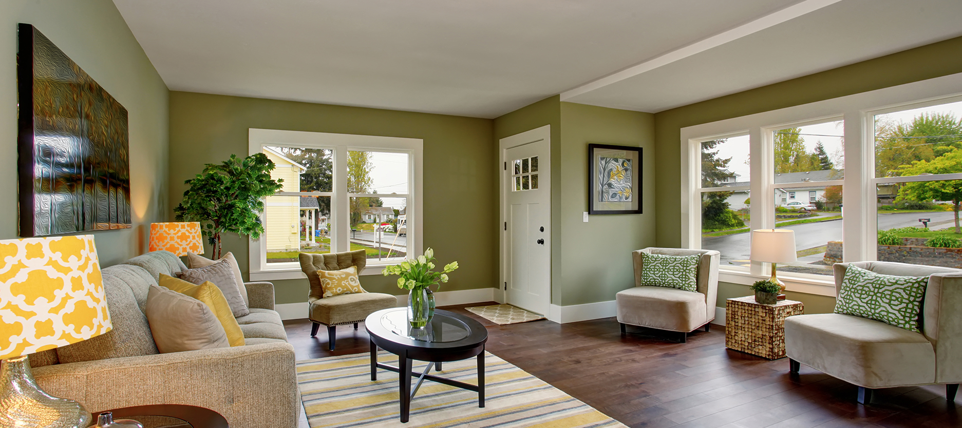 5 Colors that Will Brighten Your House