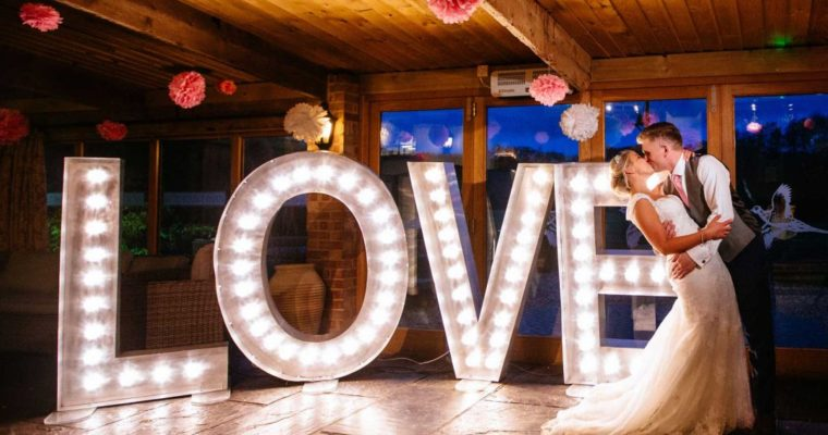 Light-up Letters: Great for Multiple Occasions