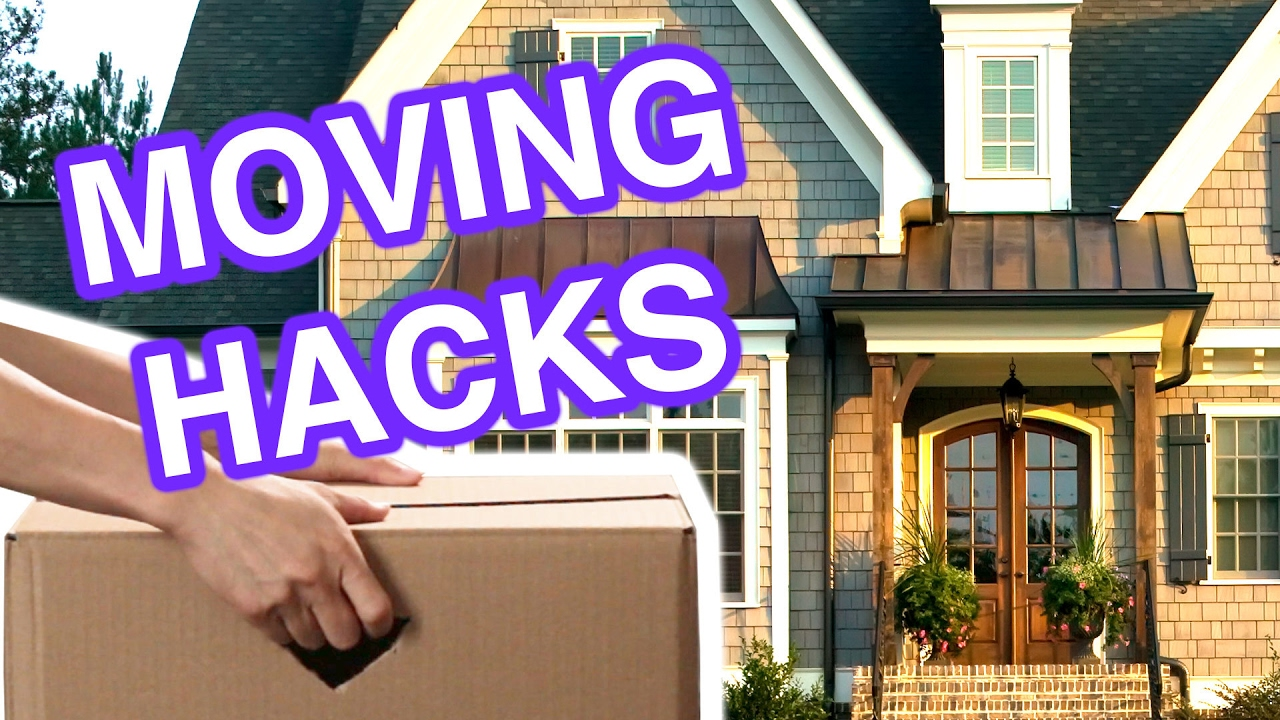 36 Best Moving Hacks of All Time
