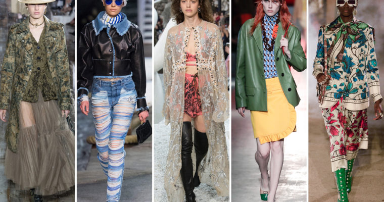 7 Women's Clothing Trends Picked From 2019's London Fashion Week Fall Edit