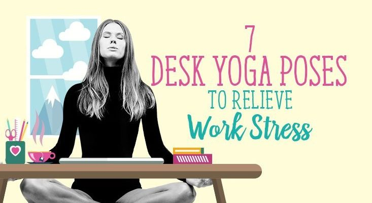 7 Yoga Moves for People Who Sit At a Desk All Day