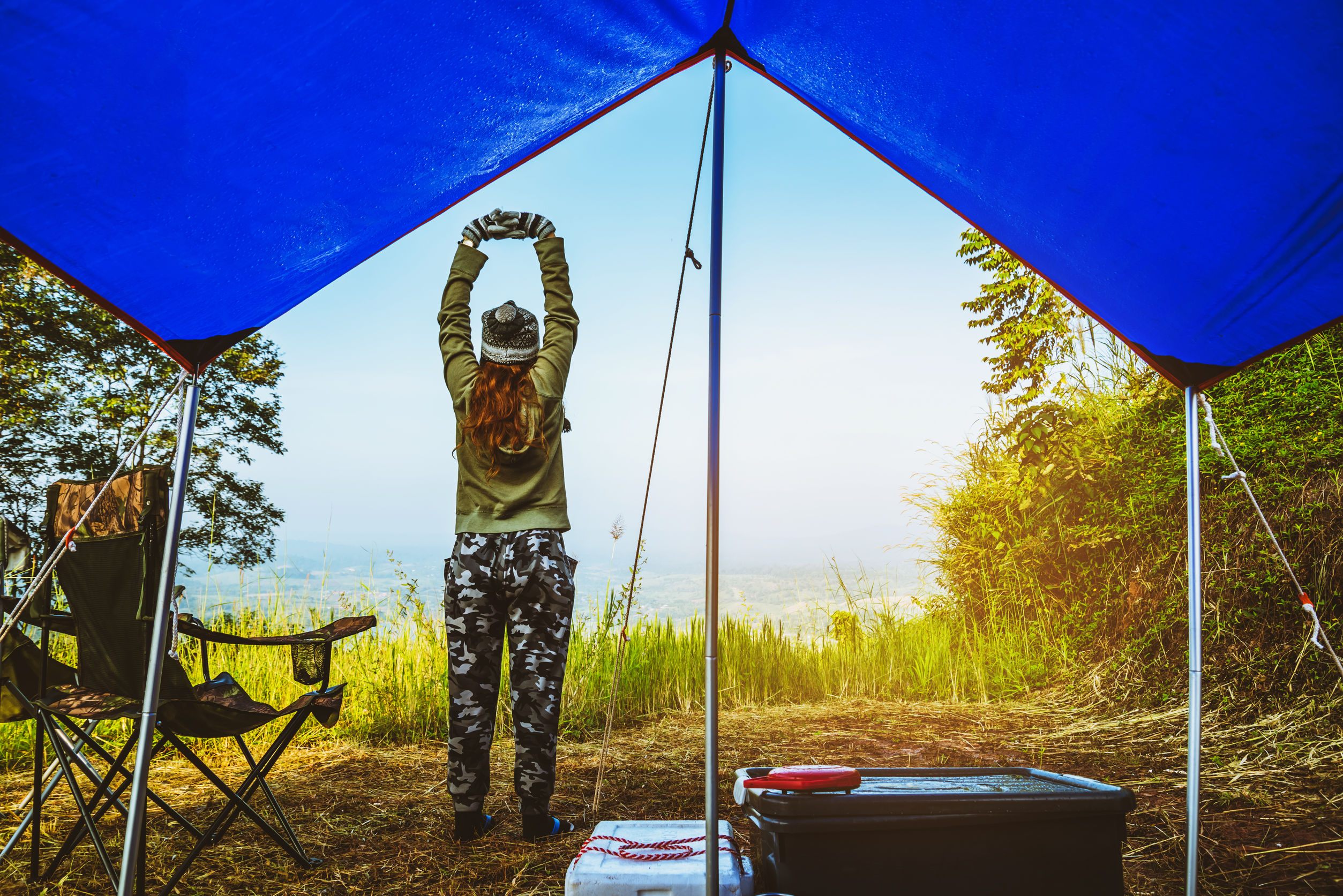 5 Surprising Health Benefits of Camping