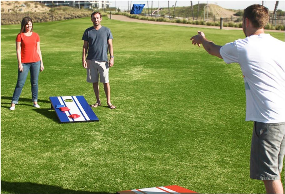 Play the Cornhole Game