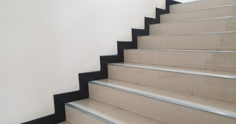Secure The Safety Quotient With Stylish Stair Nosings