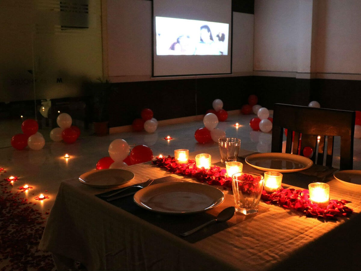 Private Dining Restaurants Are Widely in Vogue These Days ... Surprise Romantic Night At Home