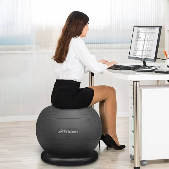 Trideer Exercise Yoga Ball Chair Review