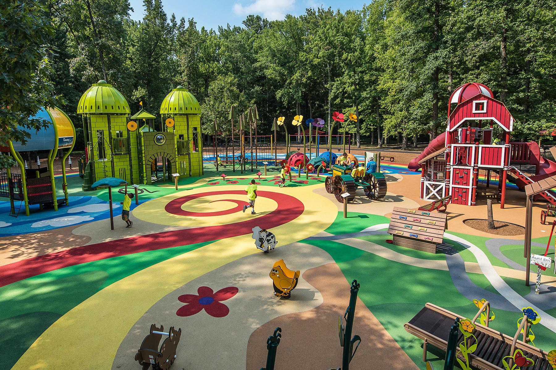 Top 5 Unique Playgrounds - WanderGlobe